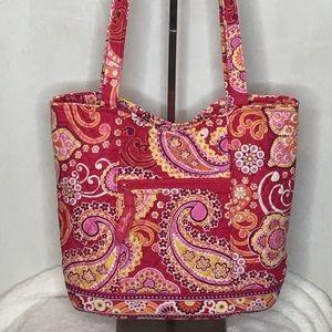 Vera Bradley Parisian Paisley Daisy Shoulder Bag